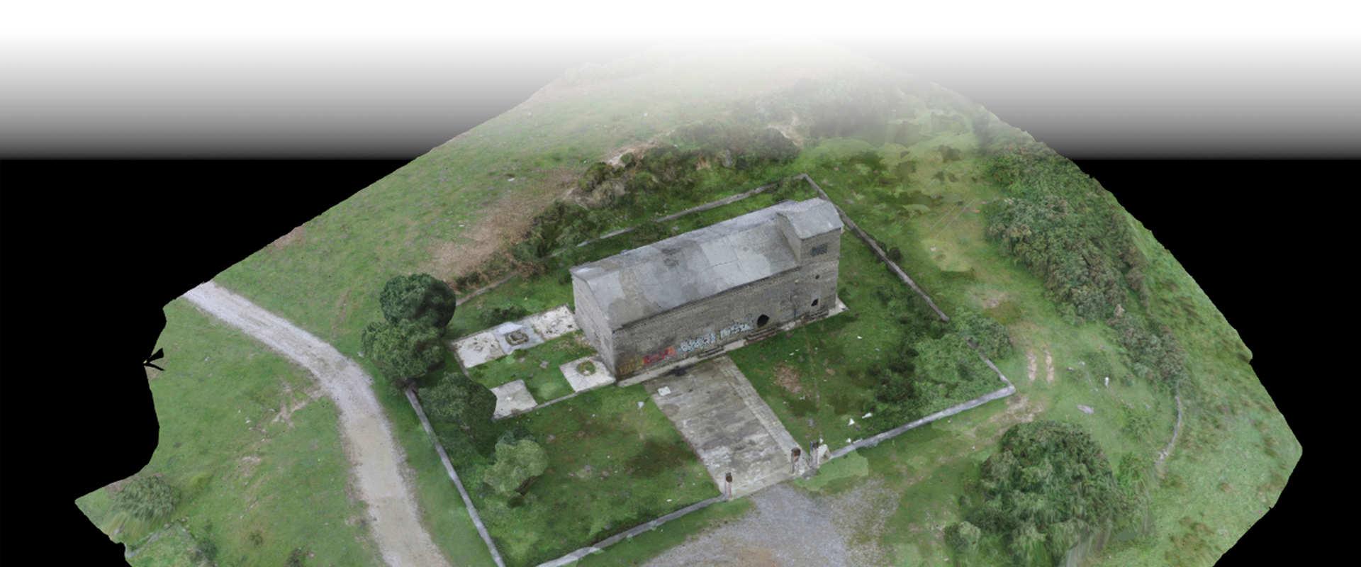 Fotogrametría mediante drone