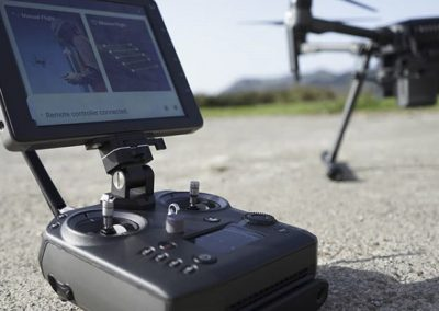 Piloto de drones UAV