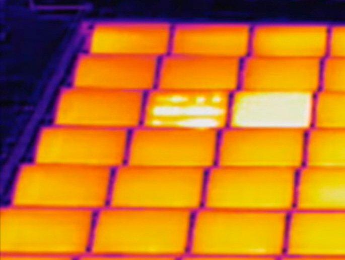 Termografía fotovoltaica