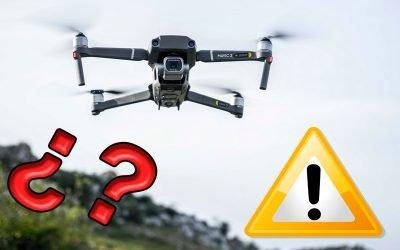 ¿Es seguro volar drones?