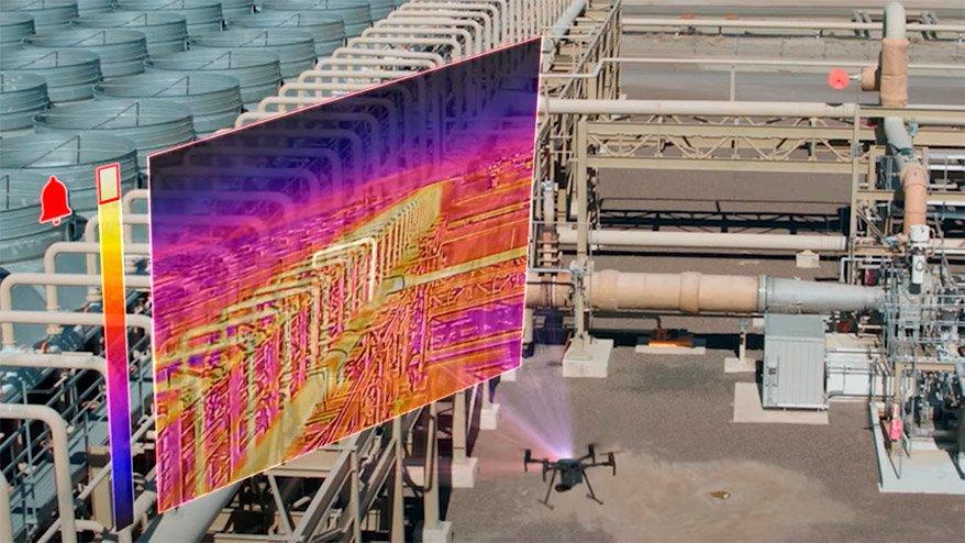 Termografía planta industrial