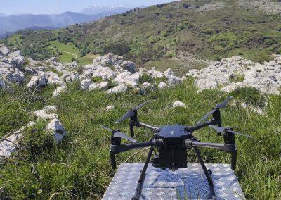 Operación dron